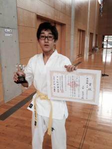 2014.10.13富士山杯型準優勝